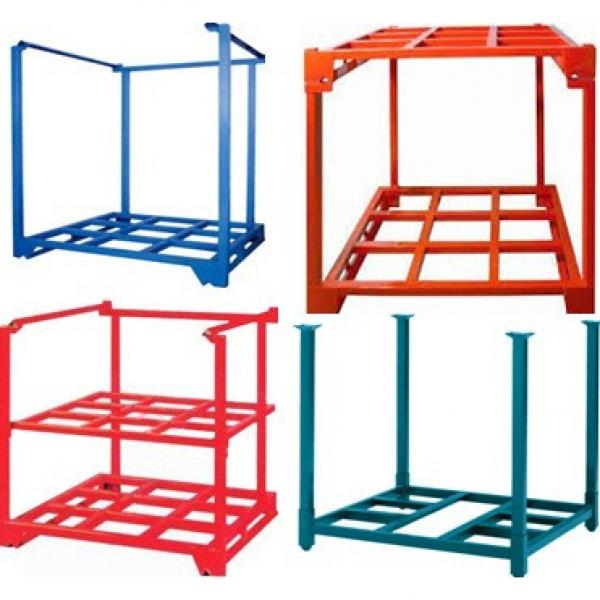 Commercial Wroght Iron Shelf System Warehouse Rack for Sale